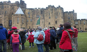 Alnwick Castle, Duke of Northumberland's family seat