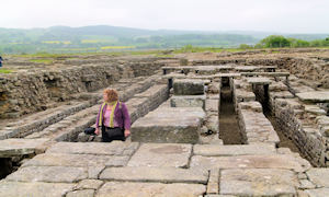 Roman Town near Corbridge