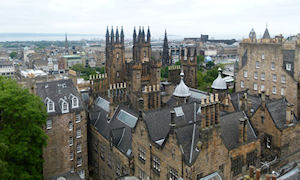 Edinburgh from Camera Obscura