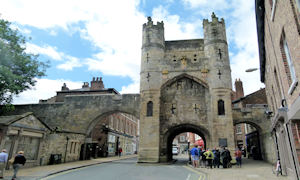 Monkbar is one of four entrances known as 'bars' into York City.-