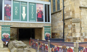 Yorvik Centre depicts the Viking reign in York