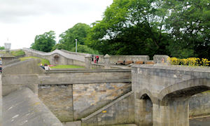 Medieval City walls of York