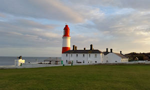 Souter Lighthouse first to be lit by electricty i